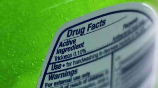 FDA: Antibacterial Soap could be bad for your health.