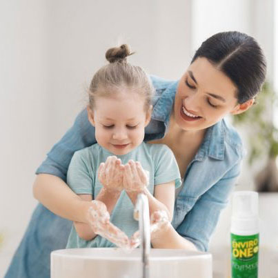 Importance of Washing Your hands with soap and water